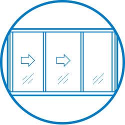 Aluminium Servery Windows