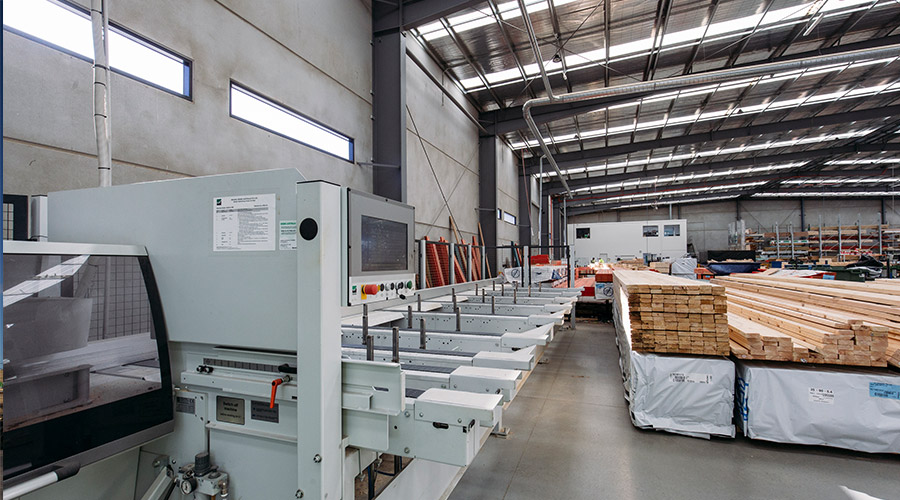 Timer wall frame manufacturing