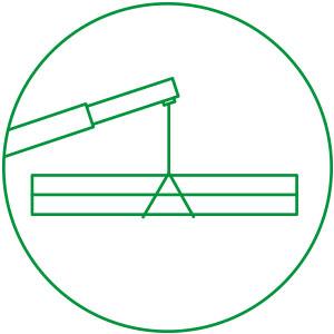 Franna crane hire - steel & timber beams