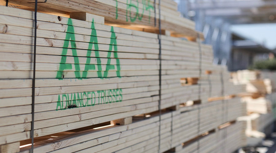 Timber for roof truss manufacturing